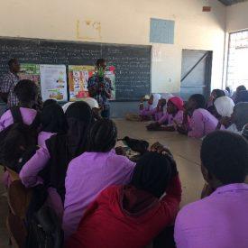 Educatieve sessie Aloë Vera op scholen